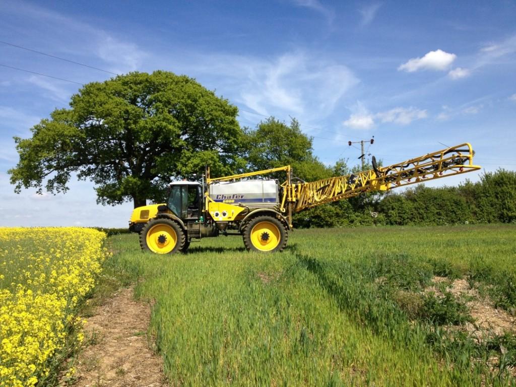 Griffin farming spraying