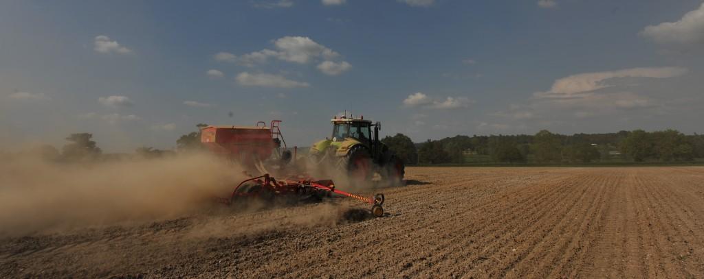 Drilling no till farm