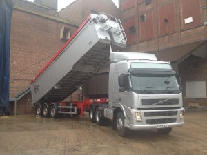 Griffing farming lorry for haulage
